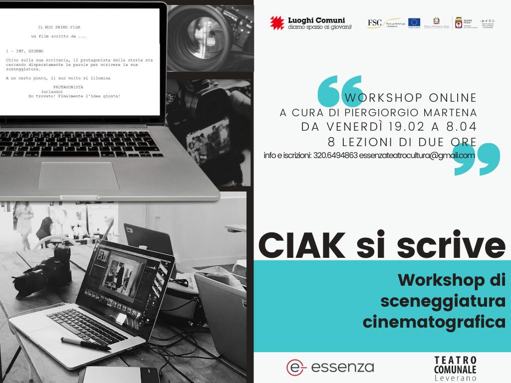 CIAK SI SCRIVE_workshop di sceneggiatura cinematografica, Lezione 8